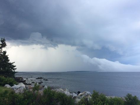 Moose Harbour storm
